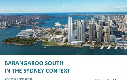 (IGBC 2017) Barangaroo South in the Sydney context / Chris Johnson