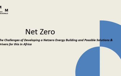 (GBCSA 2017) The Challenges of Developing a Netzero Energy Building and Possible Solutions & Drivers for this in Africa / Mike Aldous