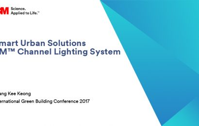 (IGBC 2017) Smart Urban Solutions 3M Channel Lighting System / Phang Kee Kiong
