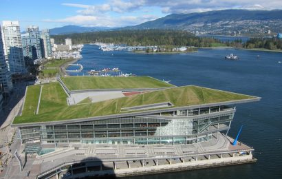 Vancouver Convention Centre is officially the world's greenest convention centre