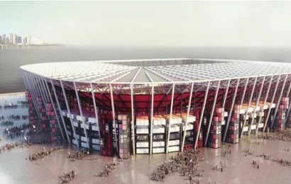 Qatar announces demountable World Cup stadium made from shipping containers