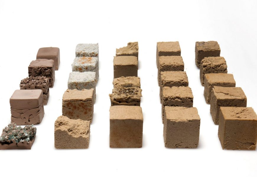 New material made from desert sand could offer low-carbon alternative to concrete