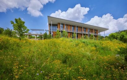The net-zero Frick Environmental Center is officially one of the world's greenest buildings