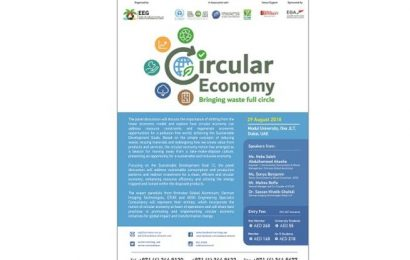 Emirates Environmental Group Highlights the Benefits of a Circular Economy