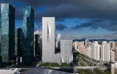 Stunning pleated facades define BIG Shenzhen towers