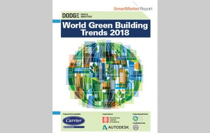 World Green Building Trends 2018